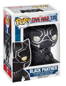 Giocattolo Action figure Black Panther Civil War Edition. Marvel Funko Pop! Funko 1