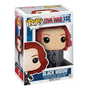 Giocattolo Action figure Black Widow Civil War Edition. Marvel Funko Pop! Funko 0