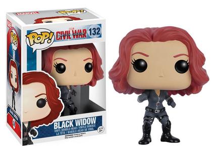 Giocattolo Action figure Black Widow Civil War Edition. Marvel Funko Pop! Funko 1