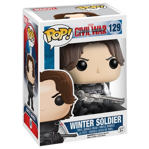 Giocattolo Action figure Winter Soldier Civil War Edition. Marvel Funko Pop! Funko 0