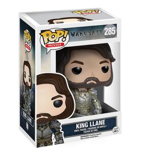 Giocattolo Action figure King Llane. Warcraft Funko Pop! Funko 0