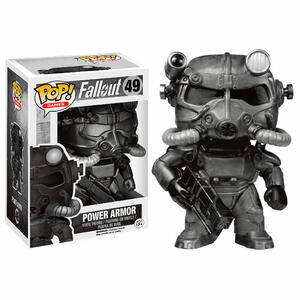 Funko POP! Games. Fallout Power Armor Black Variant - 2