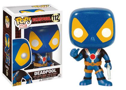 Funko POP! Marvel. Deadpool Thumbs Up X-Men Costume. - 3