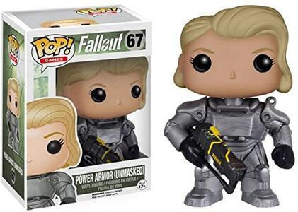 Funko Pop! Fallout. Vagabondo Solitario Versione Femminile in Armatura Atomica