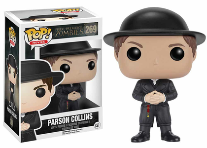 Giocattolo Action figure Parson Collins with Hat. Pride, Prejudice & Zombies Funko Pop! Funko 0
