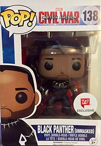 Funko POP! Marvel. Captain America 3. Civil War. Black Panther Unmasked. - 2