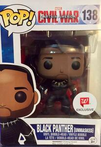 Funko POP! Marvel. Captain America 3. Civil War. Black Panther Unmasked. - 17