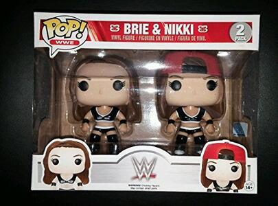 Funko POP! WWE Superstars. Brie & Nikki Bella 2-Pack