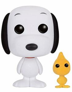 Funko POP! Animation Peanuts. Snoopy & Woodstock Flocked Variant