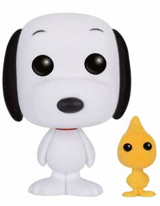 Funko POP! Animation Peanuts. Snoopy & Woodstock Flocked Variant - 3