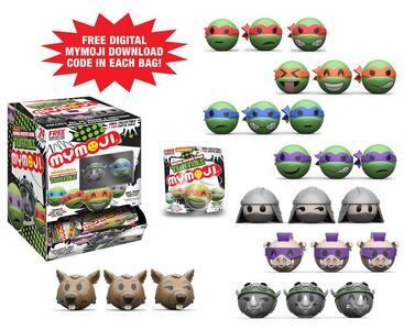 Funko Mymoji. Teenage Mutant Ninja Turtles Blind Box. Minifigures