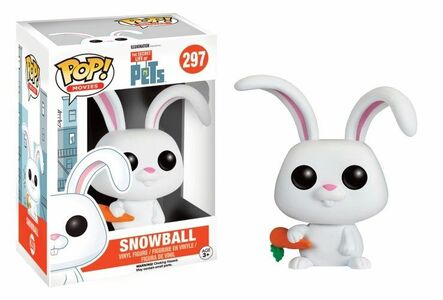Giocattolo Action figure Snowball. The Secret Life of Pets Funko Pop! Funko 1