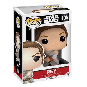 Giocattolo Action figure Rey (con spada laser). Star Wars Funko Pop! Funko 1
