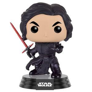 Funko POP! Star Wars Episode VII The Force Awakens. Kylo Ren Battle Pose Bobble Head