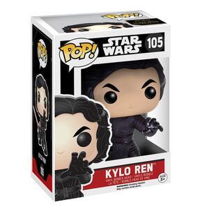Funko POP! Star Wars Episode VII The Force Awakens. Kylo Ren Battle Pose Bobble Head - 3