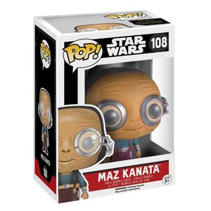 Giocattolo Action figure Maz Kanata. Star Wars Funko Pop! Funko 1