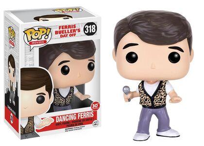 Giocattolo Action figure Ferris Dancing. Ferris Bueller Funko Pop! Funko