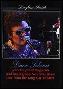 Diane Schuur with Maynard Ferguson. Live from Seattle - DVD
