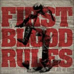 Rules - Vinile LP di First Blood