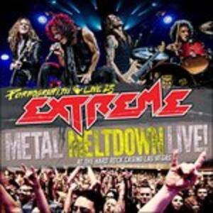 Pornograffitti Live 25. Metal Meltdown Live! - CD Audio di Extreme