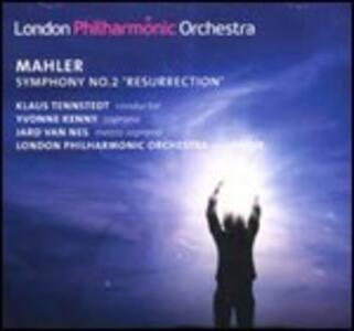 Sinfonia n.2 - CD Audio di Gustav Mahler,London Philharmonic Orchestra,Klaus Tennstedt,Yvonne Kenny