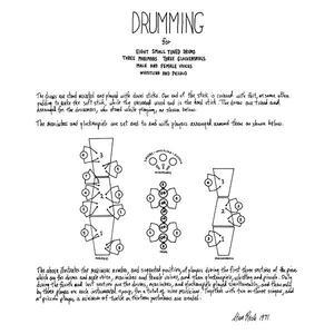Drumming - CD Audio di Steve Reich