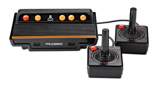 Atari Flashback 8 Nero, Arancione, Rosso