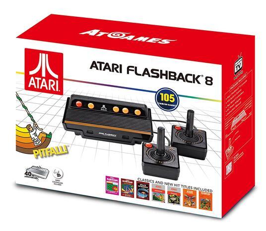 Atari Flashback 8 Nero, Arancione, Rosso - 4