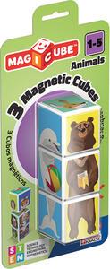 Geomag Magicube Animali 3 Cubi