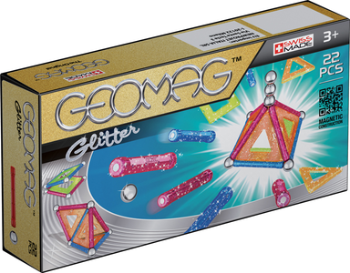 Giocattolo Geomag Panels Glitter 22 Pz. Geomag