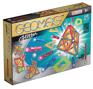 Giocattolo Geomag Panels Glitter. 68  pezzi Geomag 0