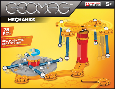 Giocattolo Geomag Mechanics 78 Pz. Geomag 0