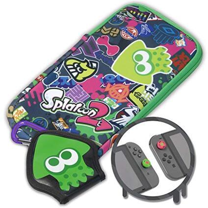 Hori Starter Kit Splatoon 2 Splat Pack Nintendo Switch