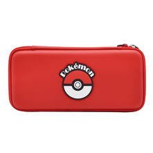 Hori NSW-058U custodia per console portatile Custodia rigida Nintendo Rosso, Bianco