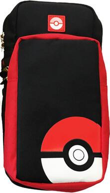 Hori NSW-170U custodia per console portatile Custodia rigida Nintendo Nero, Rosso