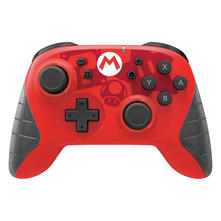FLASHPOINT 617250 periferica di gioco Gamepad Nintendo Switch Analogico/Digitale Bluetooth Nero, Rosso