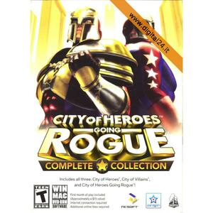 City of Heroes Going Rogue: Complete Collection - PC/MAC [Ed. UK]