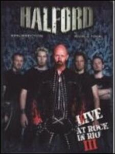 Halford. Live at Rock in Rio III - Blu-ray