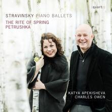 Piano Ballets - CD Audio di Igor Stravinsky