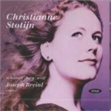 Lieder - CD Audio di Alban Berg,Franz Schubert,Hugo Wolf,Christianne Stotijn