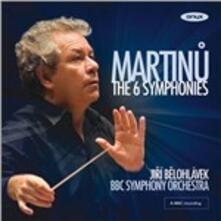 Sinfonie complete - CD Audio di Bohuslav Martinu,BBC Symphony Orchestra,Jiri Belohlavek