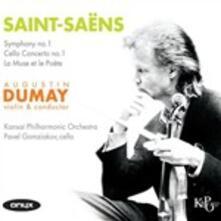 La muse et le poète - CD Audio di Camille Saint-Saëns
