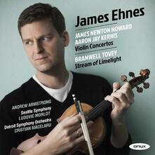 Concerti per violino - CD Audio di James Newton-Howard,James Ehnes