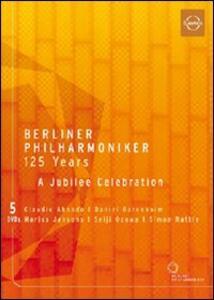 Berliner Philarmoniker 125 Years. A Jubelee Celebration (5 DVD) - DVD