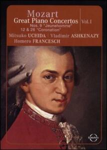 Wolfgang Amadeus Mozart. Great Piano Concertos. Vol. 1 - DVD