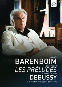Daniel Barenboim Plays & Explains Debussy (DVD) - DVD
