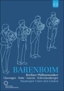 Daniel Barenboim. Berliner Philharmoniker. Staatsoper Unter den Linden - DVD