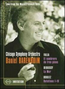 Daniel Barenboim & the Chicago Symphony Orchestra. Live from the MusikTriennale - DVD