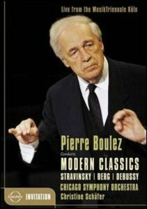Pierre Bolulez conducts Modern Classic - DVD