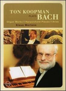 Ton Koopman Plays Bach. Organ Works. Harpischord Pieces. Arias - DVD